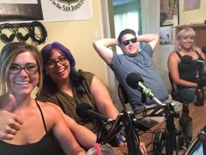 The DDP Crew in Studio
