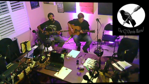 The CJ Davis Band Performing Live in the Longbox.FM Studios