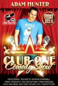 Dec. 4 Comedy Show