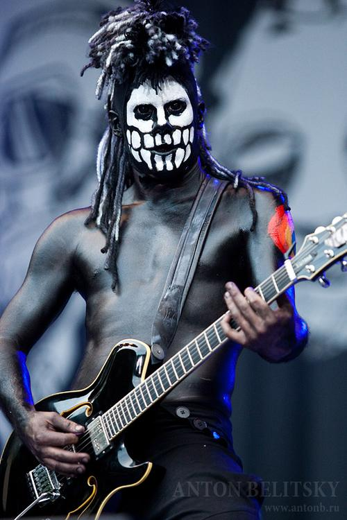 Wes Borland of Black Light Burns