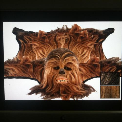 Wookie Skin Rug